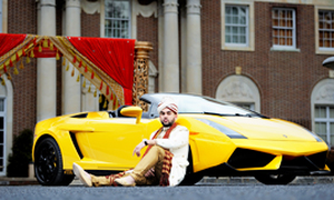 Baraat Lamborghini for your Indian Wedding